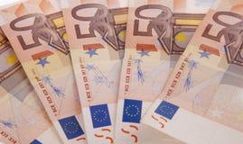 50 Euro Lizenzfreies Stockfoto