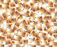 50 Euro. A lot of 50 euro note Royalty Free Stock Image