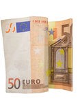 50 EURO royalty free stock photography