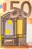 50 Euro Stockfoto