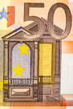 50 euro Foto de Stock