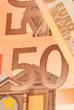 50 euro Royalty-vrije Stock Foto