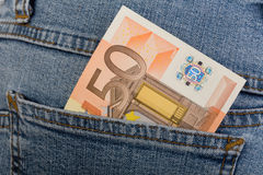 50 euro banknote Royalty Free Stock Photography