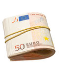 50-euro banknotes Royalty Free Stock Photography