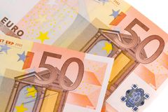 50-euro banknotes Stock Photo