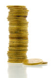 50 euro cent coins 1 royalty free stock photos