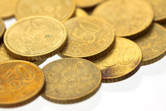 50 euro cent coins 10 Stock Photos