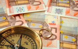 50 euro na południe Zdjęcie Royalty Free