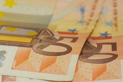 50 euro note Stock Photography