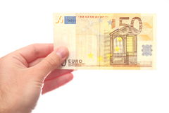 50 euros Royalty Free Stock Image