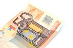 50 euros Royaltyfria Bilder