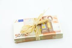 50 eurosjobbanvisningar Arkivbild