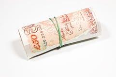 50 funtów Obraz Stock