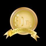 50. Jahrestag stock abbildung
