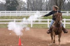 50 mph bullseye Стоковые Фотографии RF