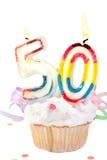 50.o cumpleaños Fotografía de archivo