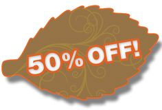 50% Off Leaf Stock Photo