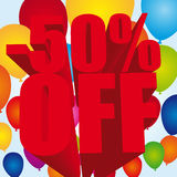 -50 percent off Stock Images