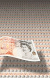 50 pound bank notes Stock Photo