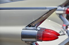 50's fins and lights Royalty Free Stock Photo