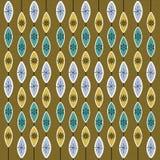50's retro pattern background Royalty Free Stock Photo