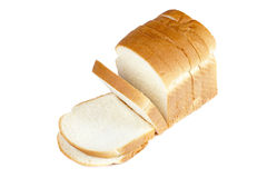 50 sliced loaf of bread Royalty Free Stock Images