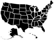 50 stanów jednoczących Zdjęcia Stock