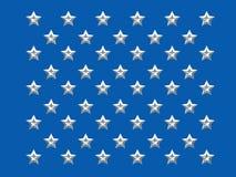 50 stelle Fotografia Stock Libera da Diritti