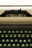 50-tal circa den gammala closeupen typewrite Arkivbilder