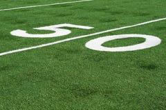 50 yard lijn royalty-vrije stock fotografie