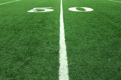50 Yard Line Royalty Free Stock Images