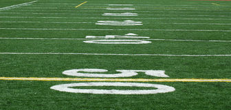 50-Yard Line Royalty Free Stock Images