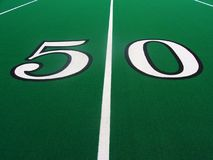 Free 50-Yard Line Royalty Free Stock Images - 84589