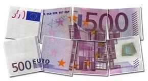 500欧元 库存照片
