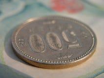 500硬币日元 库存照片