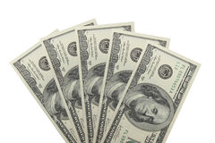 500美元 免版税库存图片