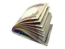 500银行印第安inr附注 库存图片