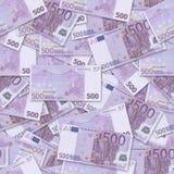 500 ευρο- Στοκ Εικόνες