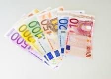 500 ευρώ λογαριασμών Στοκ Φωτογραφίες