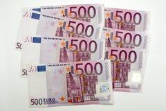 500 ευρώ πεντακόσια Στοκ Εικόνες