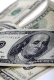 500 счетов доллара закрывают вверх Стоковые Фото