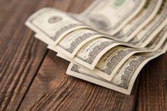 500 долларов конца-вверх Стоковые Изображения