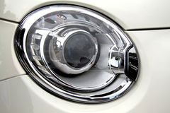 500 Abarth headlight  Royalty Free Stock Image