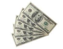 500 dólares 2 Fotografia de Stock Royalty Free