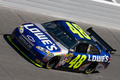 500 daytona jimmie nascar johnson Royaltyfri Foto