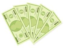 500 Dollar Lizenzfreie Stockfotos