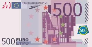 500 euro. Evropean paper money 500 euro Stock Photos