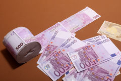 500 euro Royalty-vrije Stock Foto