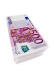 500 Euro. Banknotes from the european union Royalty Free Stock Photos