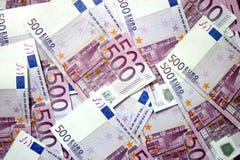 500 EURO stock foto's